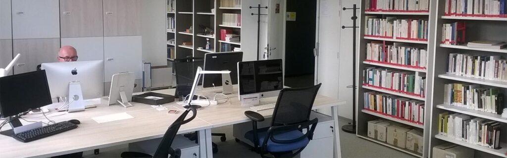 Salle de documentation du GSRL