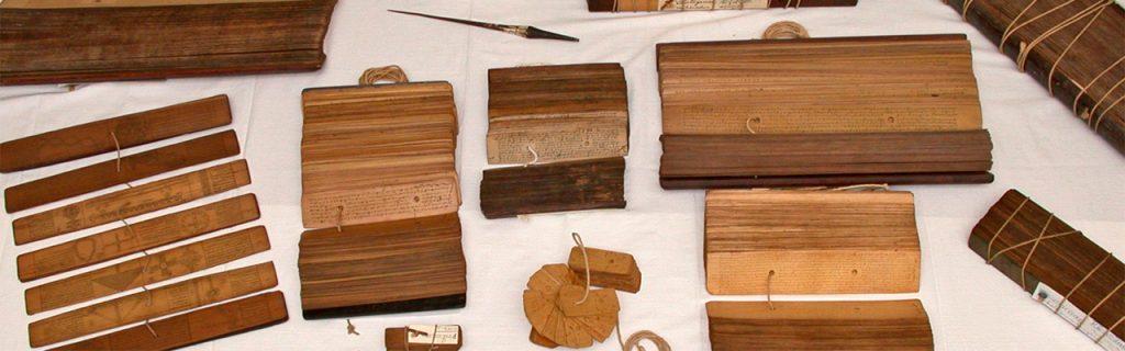 Divers manuscrits   © Institut Français de Pondichéry
